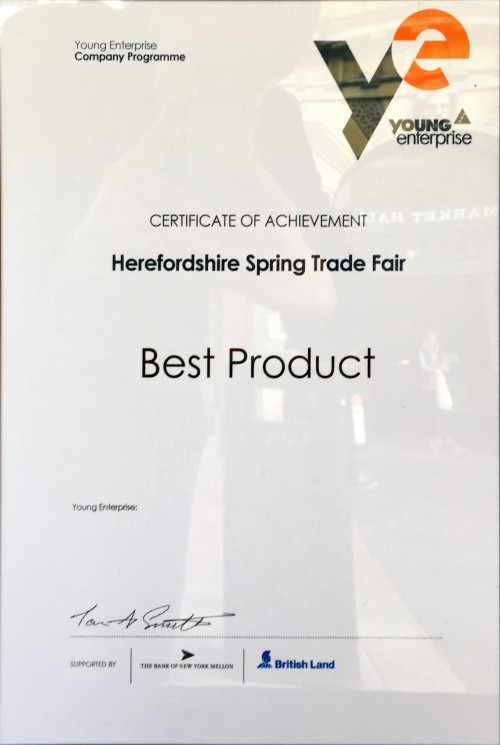 'Best Product' Award