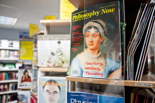Philosophy magazine in the Library