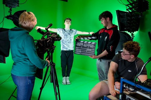 One of the new courses - Media Production