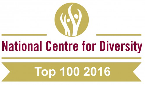 National Centre for Diversity - Top 100 2016