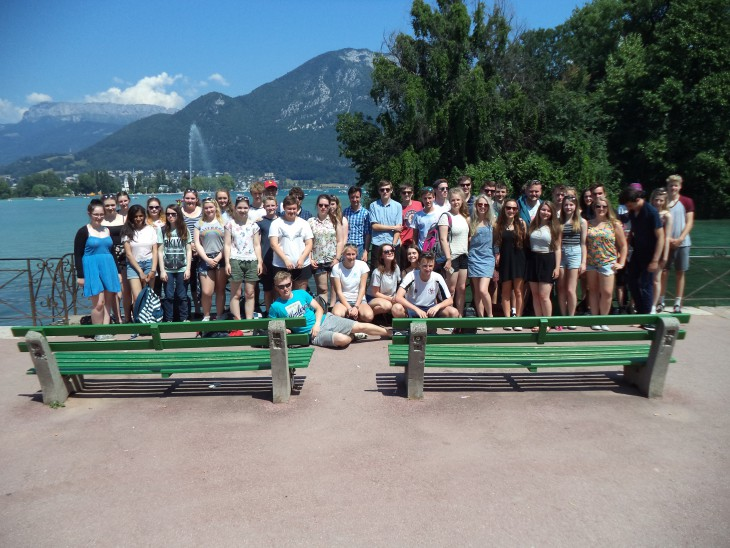 French Alps Fieldtrip, The Arve Valley