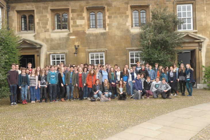 HE+ students at Christ's College Cambridge