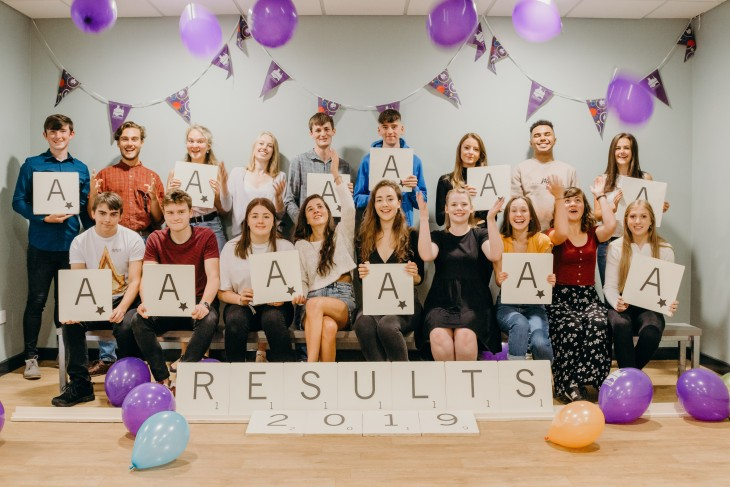 A Level Results Day 2019