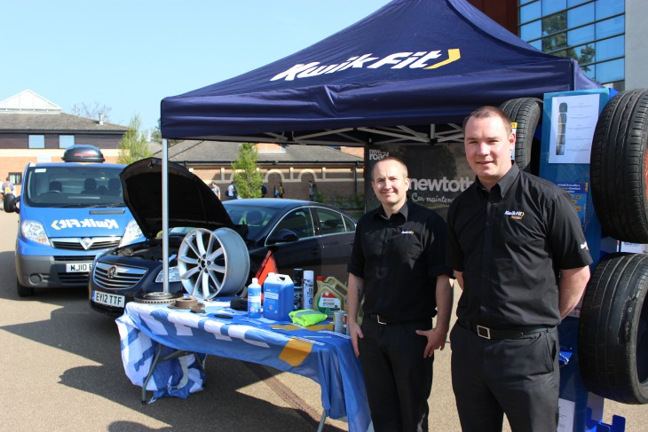 Derek and Tom from Kwik Fit