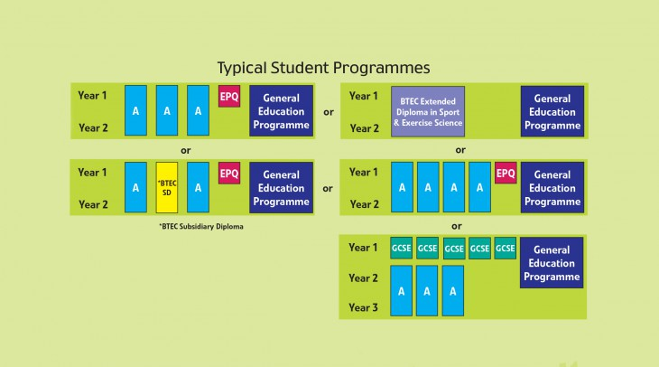 Typical programmes of study