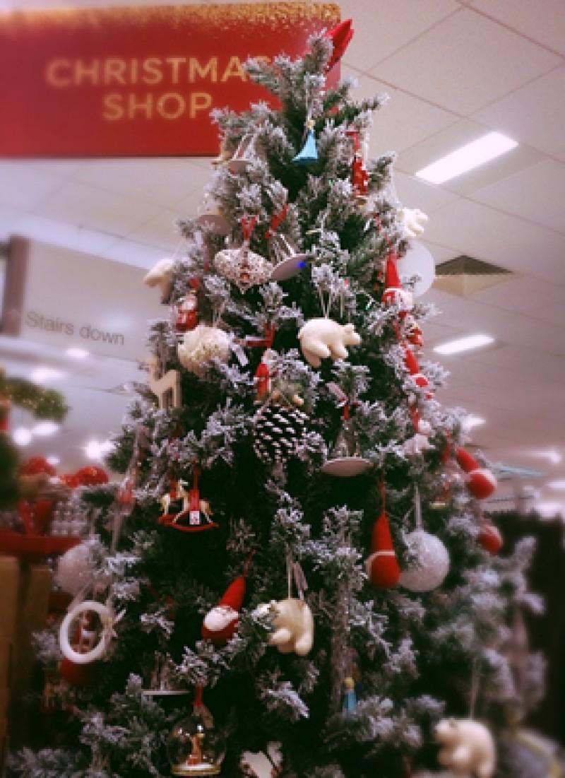 6ft pre lit christmas tree walmart