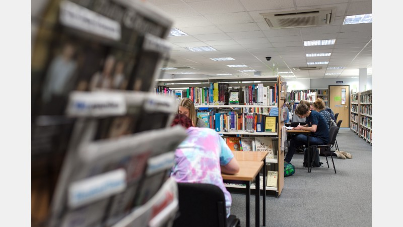 Study spaces in the Library