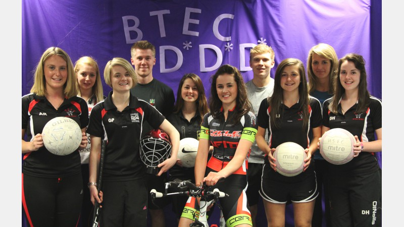 2014 BTEC Sport Students achieve D*D*D* (Distinction)