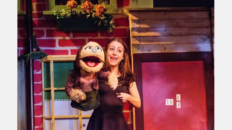 Holly Clack as Kate Monster - Photo: Toni Ward