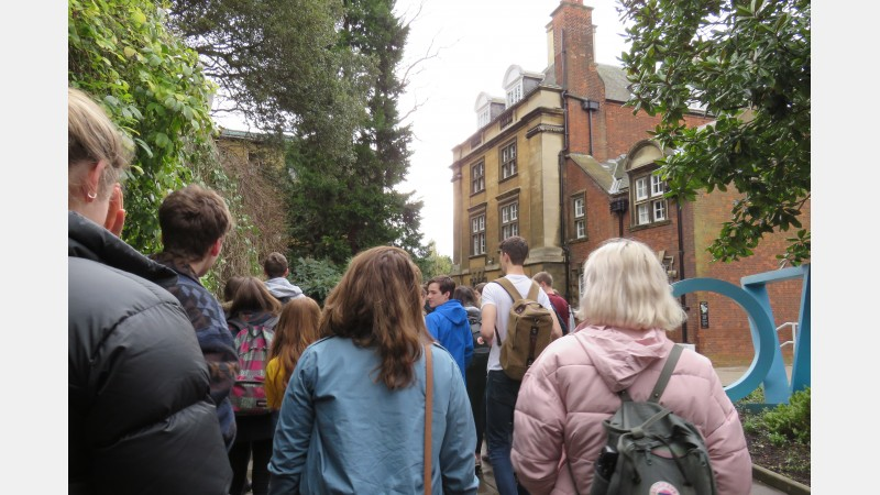 HE+ Students Visit Cambridge 3