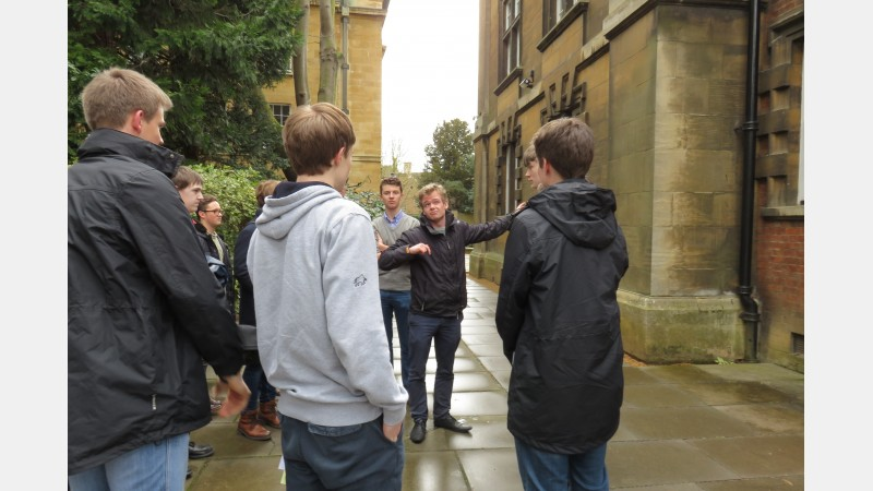 HE+ Students Visit Cambridge 4