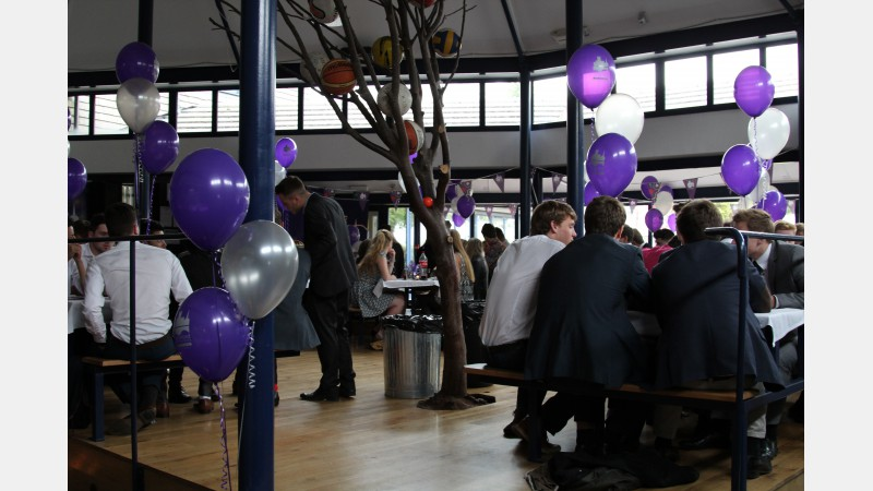 Sports Awards celebration in the Pavilion