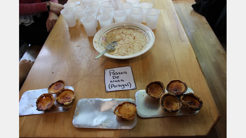 Portuguese is widely spoken across Herefordshire and these homemade Pasteis de Nata gave students a real taste of Portugal!