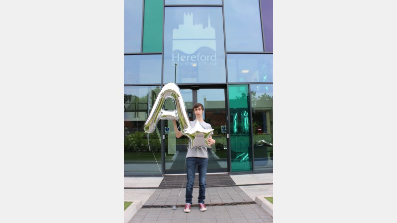 Tim Mortimore (ex Dyson Perrins CofE Academy) achieved A Computing, B Economics, A General Studies and A Mathematics. Tim is heading to the University of Birmingham to study BSc Computer Science.