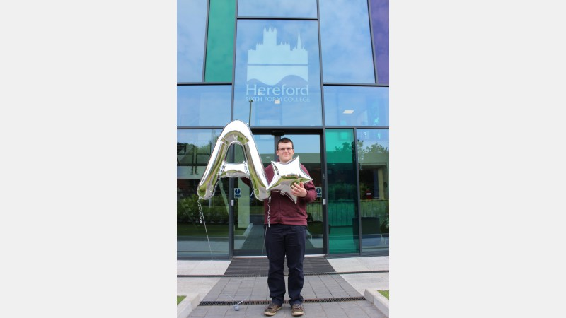 Jonathan Rees (ex Bishops Castle Community College) achieved A Chemistry, A* Further Mathematics, A* Mathematics and A* Physics. Jonathan is heading to the University of St Andrews to study Mathematics.